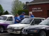BOVC at Broughshane St Patrick's Church of Ireland Fun Day 27/06/15